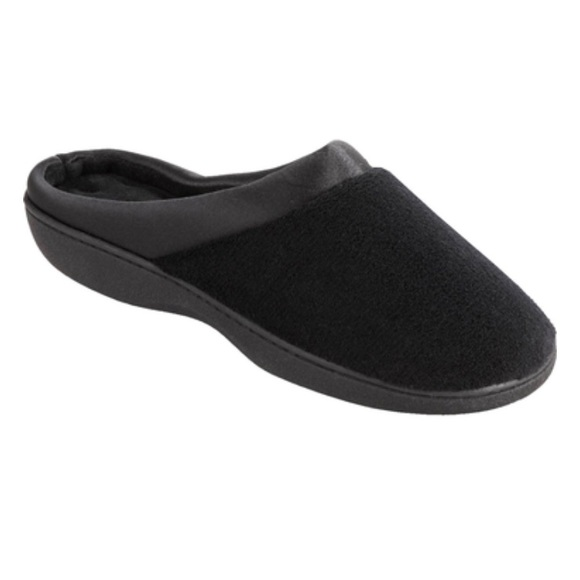 NEW Isotoner Microterry Clog Slippers
